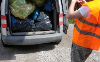 Vyzbieranie odpadu Revúca – Poprad